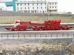OCWW ALN102  Ready to Run 45T BR RED Ransomes & Rapier Crane